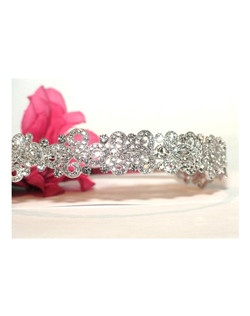 STUNNING new! Swarovski crystal wedding headband