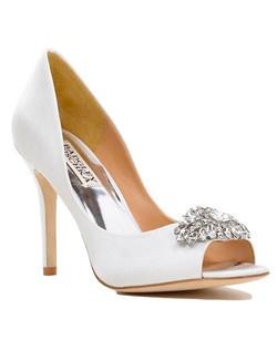 """Classic pump, open toe, 3 3/4"""" heel"""