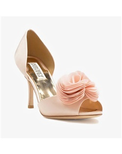 "D'Orsay style, 3 1/4"" heel, Rose Ornament"