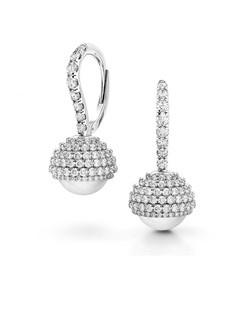 Danhov Trenta pearl diamond earrings.