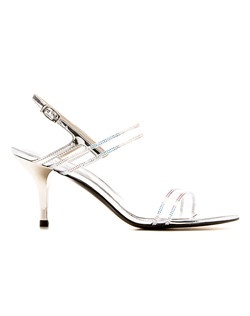 Glam. Gorgeous. This embellished sandal is the perfect compliment to evening ensembles from gowns to cocktail dresses.