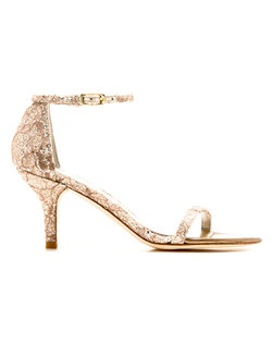 Its shorter heel allows for all the glam and sex appeal -- but offers the added appeal of extra comfort and a lower silhouette.
