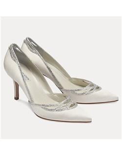 "3"" heel, pumps, crystal"
