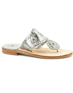 Our best-selling Hamptons sandal is available in a junior size - the perfect pick for your flower girl or junior bridesmaid. She'll dazzle the aisle in this comfortable and classy pair, finished with our signature whipstitch trim and rondelle accents.