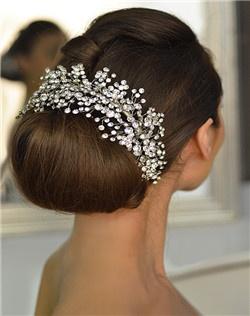 Rhinestone Cluster Headband.