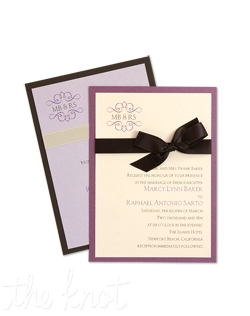 "Simple, streamlined, and so sophisticated, the Abbey Wedding Invitation allows you to get creative! Not only is The Abbey invitation designed in a classic shape 5-1/4"" x 7-1/4"", but it is completely customizable! You will choose from hundreds of ink and paper color combinations to make a unique statement all your own. With over 90 paper colors for your invitations and enclosure cards, and with a variety of additional a la carte options, The Abbey is a smart choice, with major style appeal. Add ribbon or an embellishment to complete the look! 5 1/4"" x 7 1/4"""