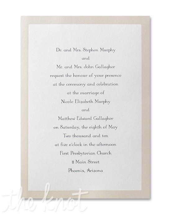 Budget Wedding Invitations Wedding Invitations - Budget Wedding