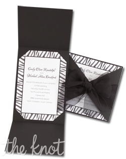 For a fun and edgy look try our animal print invitations. Available in Cheetah, Zebra and Tiger prints.