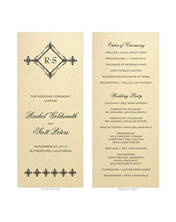 This beautiful wrap wedding invitation suite features an intricately laser cut floral pocket with many different colors to choose from for the inner card and matching stationery suite.