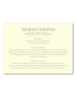 No guest will forget this delightful letterpress design that pairs fabulous fonts with a beautiful color palette.