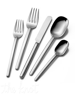 Made of 18/0 stainless steel, this 65 piece set includes service for 12 and a caddy.