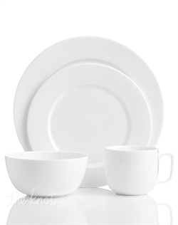 Set five-star standards for your table. An affordable luxury from Hotel Collection, Bone China dinnerware has a pure white glaze and sleek fluidity to impress every guest. Superior craftsmanship yields translucent dishes with a delicate look and exceptional durability to cater virtually any occasion.