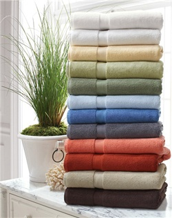 Crafted of luxurious Turkish cotton, our towels are loomed with dense loops and a piqué dobby for guaranteed absorbency and incomparable softness.