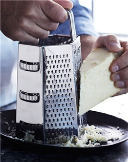 Life in the kitchen is easier when you use the right tool for the task. Descended from the simple box graters our grandmothers wouldn't do without, this sturdy prep tool has six sides for shredding, grating, slicing and julienning.