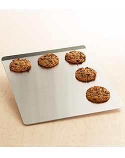 One smart cookie! Our compliments go to the chef who uses this nonstick cookie sheet — you'll get perfect results, every time you bake. Air-insulated means cookies brown, not burn.