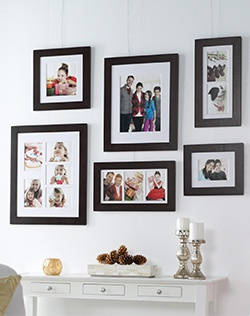 These SONOMA life + style picture frames include crisp, white matting to add depth to your images.