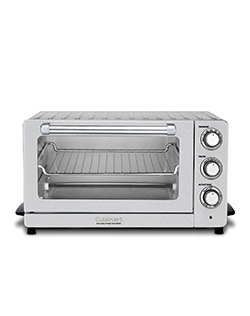 Cuisinart brings a classic approach to modern cooking with the new CounterPro Convection Toaster Oven Broiler. Industrial styling, four cooking options, including convection bake, and convenient keep-warm function make this multi-functional countertop oven a valuable addition to any kitchen.