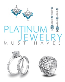 Platinum Engagement and Wedding Ring Must-Haves
