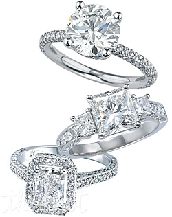 From our pave collection, these stunning settings are hand crafted and custom made specifically for you.  On our site you can browse from over 30,000 GIA certified center diamonds and find the perfect diamond to accompany your ring. We are a 5th generation jeweler and as such you can rest assured that we will overlook every detail and step of your purchase to maximize your buying experience. Available in platinum and white gold. Accommodates any center stone shape.