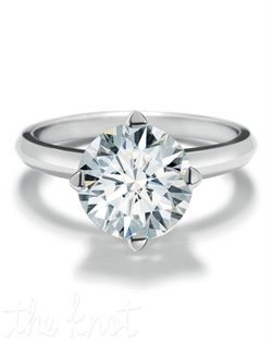 As the ultimate expression of love, the Forevermark Setting™ Solitaire Ring is a timeless design which reveals the full beauty of the precious Forevermark diamond. A four-pronged setting delicately cradles each Forevermark diamond, symbolizing the North, South, East and West of all-encompassing love.  The solitaire ring is the iconic piece in the Forevermark Setting™ Collection.""
