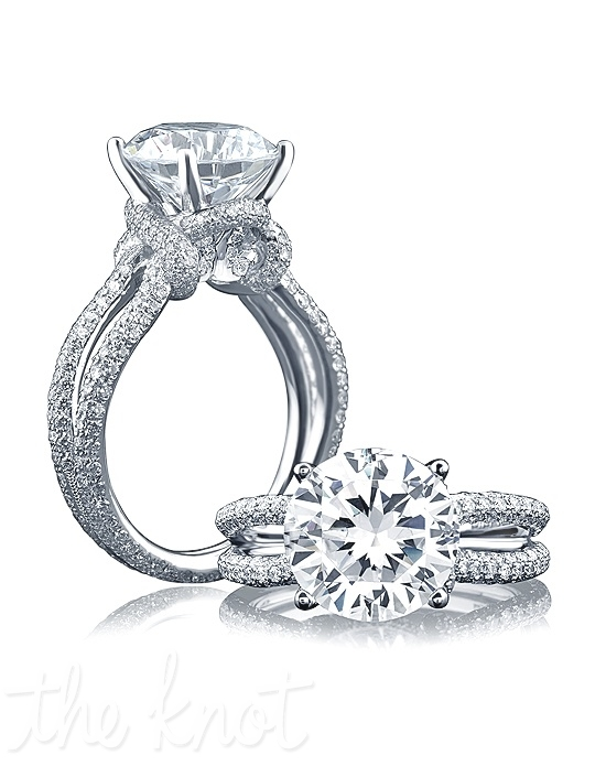 a jaffe me1631 engagement ring the knot
