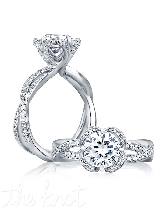 a jaffe me1623 wedding ring the knot