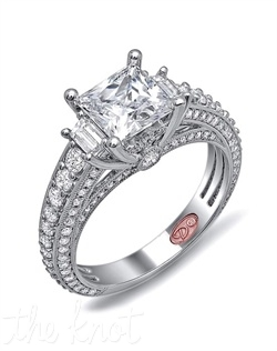 &lt;p&gt;Available in White Gold 18KT and Platinum. 1.18 CTW&lt;/p&gt;&lt;br&gt;