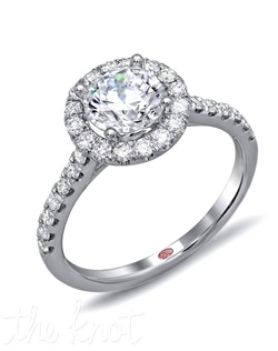 <p>Available in White Gold 18KT and Platinum. 0.50 RD</p><br>