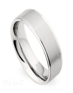 Gents comfort fit wedding band