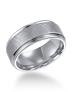 9mm, Tungsten Carbide, Comfrot Fit Wedding Band
