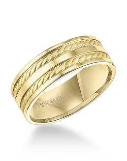 7.5mm Comfort Fit Engraved Band