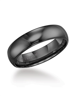 6mm Tungsten Carbide Domed Bright Polished Comfort Fit Band.