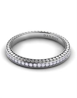 Platinum ladies' wedding band with .27tcw of diamonds