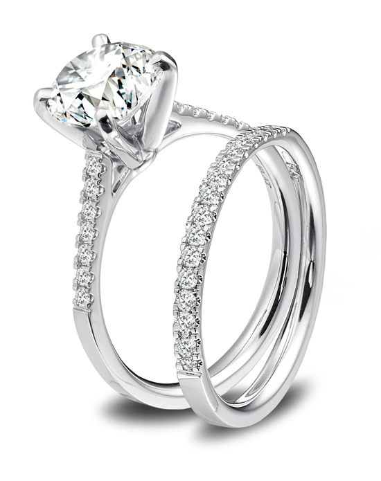 Platinum Engagement And Wedding Ring Must Haves Blue Nile Platinum And Diamon