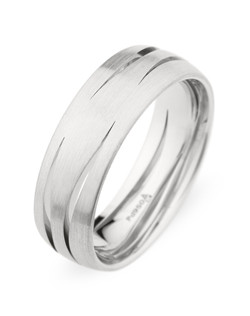 7MM BAND WITH CARVED DESIGN