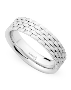 6MM BAND WITH WEAVED DESIGN