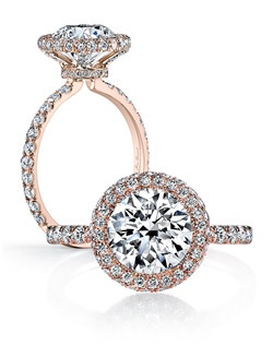 """Handcrafted, custom made Jean Dousset signature design.