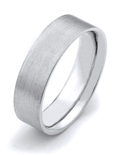 What's your story? It may be expressed with this 6.5mm wedding band designed by TRUE KNOTS for the TRUE MAN® collection. This wedding band may be customized to your desired width, finish, and metal type. Available in platinum, gold, and palladium.
