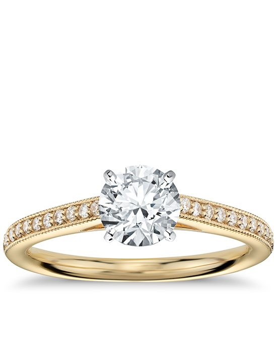 Yellow Gold Engagement Rings Yellow Gold Engagement Rings That Are Not Diamo