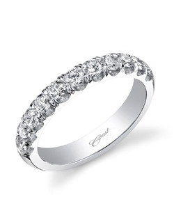 The ultimate diamond wedding band, featuring .75 carats of round brilliant diamonds.