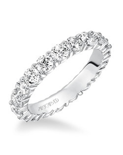 Classic prong set all around diamond eternity band. Available in the following carat weights: 0.50CT, 0.75CT, 1.00CT, 1.50CT, 2.00CT, 2.50CT, 3.00CT.