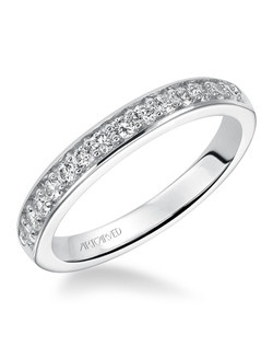 Natalia, Diamond wedding band to match engagement ring 31-V194.
