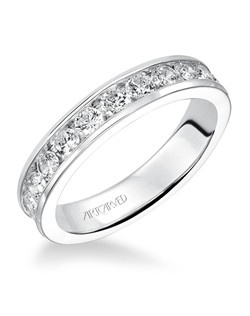 Classic round channel set eternity band. Available in the following carat weights: 0.33CT, 0.50CT, 0.75CT, 1.00CT, 1.50CT, 2.00CT.