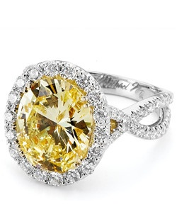 Platinum MICHAEL M engagement ring featuring 0.74 ct G,VS diamonds. Also available in 18K White, Yellow and Rose Gold.