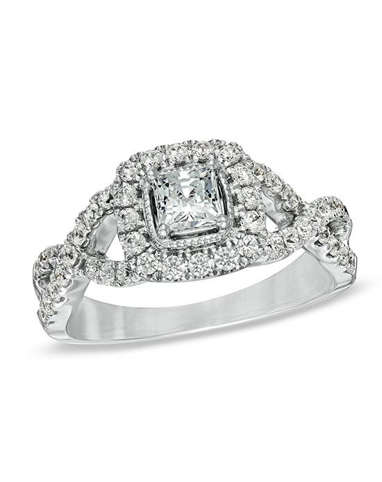 Celebration Diamond Collection at Zales Celebration 102 1 CT T W Princess