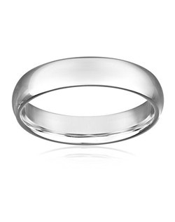 Showcase his classic and cool style with the Men's 5mm 10k Gold Comfort Fit Band. Available in both yellow and white gold, this 5mm wide ring is sleek in design, appropriate as a wedding band or fashion accessory. Featuring a curved inside to create a comfort band design, this ring will be easy to wear day after day. Finished off with a high-polish finish, this ring is sure to make him feel like a million bucks.