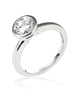 Based on 14K. The fit isF, in size7.00, and the width is2.5 mm. Multi-Color Ring. Available in 10K, 14K and 18K Gold and Platinum. Gold price is based on 1215 gold. Price excludes center stone.