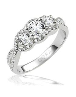 Based on 14K. The fit isF, in size7.00, and the width is7.5 mm. The total diamond weight is 0.880, consisting of: Qty 58 - VS, G/H - 0.010ct. Round diamonds and Qty 2 - VS, G/H - 0.150ct. Round diamonds. Multi-Color Ring. Available in 10K, 14K and 18K Gold and Platinum. Gold price is based on 1215 gold. Prices do not include the center diamond.