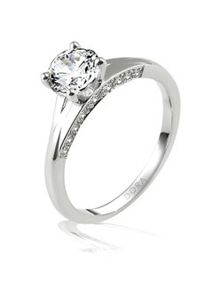 Based on 14K. The fit isF, in size7.00, and the width is5 mm. The total diamond weight is 0.328, consisting of: Qty 4 - VS, G/H - 0.025ct. Round diamonds, Qty 4 - VS, G/H - 0.007ct. Round diamonds, Qty 4 - VS, G/H - 0.015ct. Round diamonds, Qty 4 - VS, G/H - 0.010ct. Round diamonds and Qty 2 - VS, G/H - 0.050ct. Round diamonds. Multi-Color Ring. Available in 10K, 14K and 18K Gold and Platinum. Gold price is based on 1215 gold. Prices do not include the center diamond.