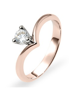 Based on 14K. The fit is F, in size 7.00, and the width is 3 mm. Multi-Color Ring. Available in 10K, 14K and 18K Gold and Platinum. Gold price is based on 1215 gold. Prices do not include the center diamond.